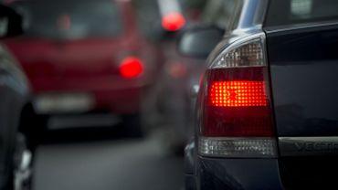 Les automobilistes perdent près de deux heures sur leur temps de parcours habituel vers Nivelles (illustration).