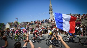 Brest remplace Copenhague pour le Grand Départ du Tour de France 2021.