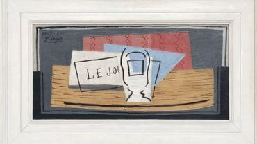 """Le tableau """"Nature morte"""", valorisé à 1 million d'euros."""