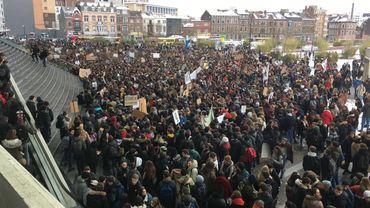 Marche à Liège (Janvier)