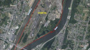 Chertal: le dossier de démolition du site de l'aciérie prévoit de raser tous les bâtiments industriels