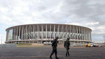 Football: Les grévistes de Sao Paulo menacent de perturber le Mondial