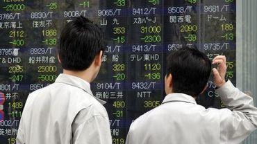 A la Bourse de Tokyo