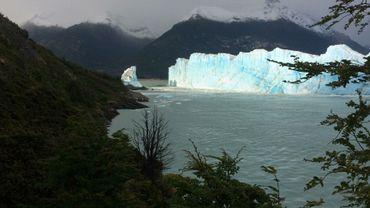 Illustration - La fonte d'un glacier en Argentine.