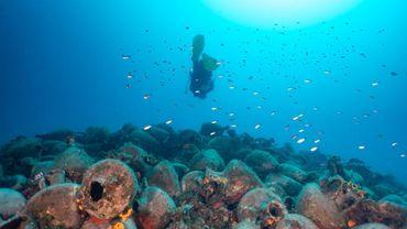 Le site, situé près de l'îlot de Peristera sera ouvert aux amateurs de plongée dès le 3 août.