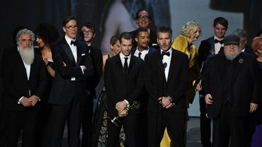 """""""Game of Thrones"""" (""""Le Trône de fer"""", HBO) a reçu l'Emmy de la meilleure série dramatique."""