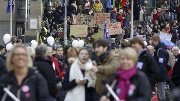Le 25 novembre 2017, la manifestation avait rassemblé plus de 3.000 participants.