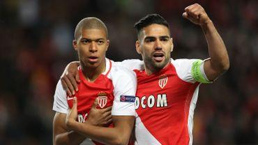 Kylian Mbappé et Radamel Falcao, le duo gagnant de Monaco