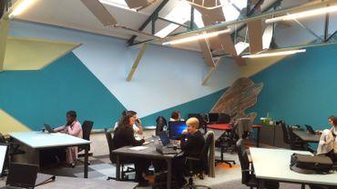 De nouveaux locaux pour le Coworking Namur