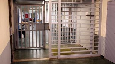 Une entrée de la prison de Lantin
