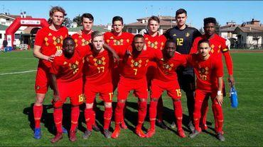 Les U19 belges, battus par l'Ukraine, disent adieu à l'Euro
