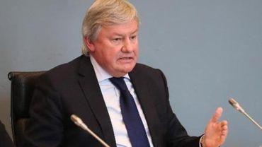 Jean-Claude Marcourt, ministre de l'Enseignement supérieur de la FWB.