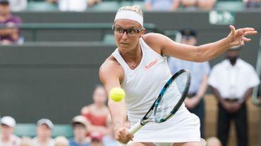 Flipkens en huitièmes de finale du double à Wimbledon