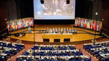 Ouverture de la réunion des Etats-membres de l'OIAC à La Haye, le 26 juin 2018