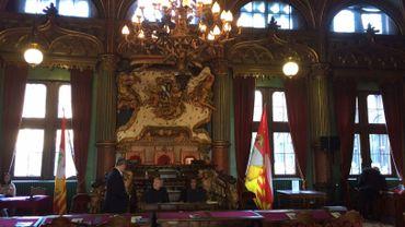 La salle conseil provincial au palais des Princes Evêques