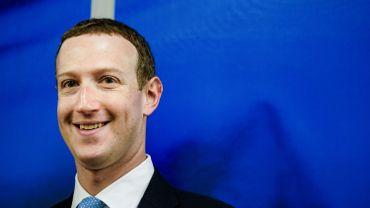 Le patron de Facebook a vu sa fortune augmenter de 46%.
