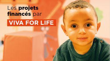 La récolte de dons Viva for Life 2018 permet de financer 117 projets !
