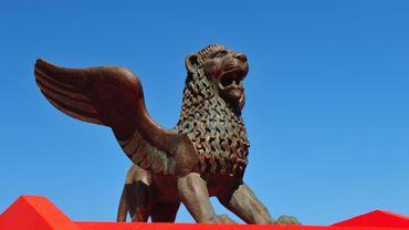 Le Lion ailé, symbole de la Mostra de Venise