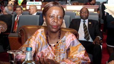 La Rwandaise Louise Mushikiwabo