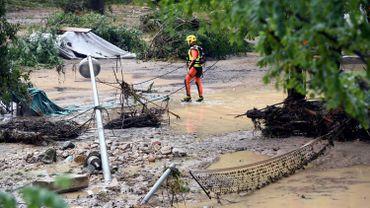 France: 1600 personnes évacuées à cause des inondations, un Allemand porté disparu