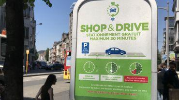 """Liège: 223 places de stationnement """"Shop & Drive"""" sont officiellement actives"""
