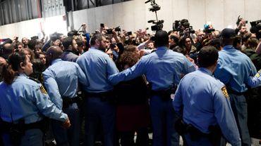 COP25: des militants expulsés après une manifestation
