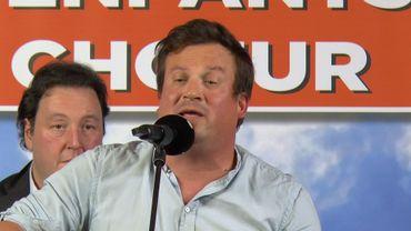Nicolas Dieu, en solo et chanteur de Mister Cover