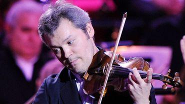 Vadim Repin aux Victoires de la musique classique, en France, en 2010