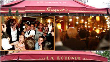 Macron fait la fête à La Rotonde, comme Sarkozy au Fouquet's ? Pas vraiment