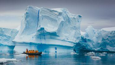 Climat: menace sur les soutiens des glaciers de l'Antarctique