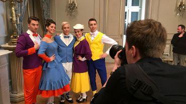Coulisses du tournage Mary Poppins avec Loïc Nottet