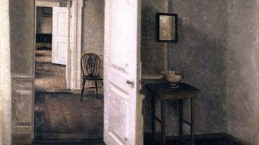 Four Rooms Interior from the Artist's Home Strandgade 25 - Hammershoi