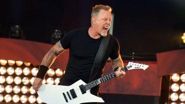 James Hetfield, du groupe Metallica