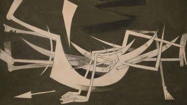 """""""A Trois centimètres de la Terre"""" de Wifredo Lam (1962), estimé entre 2.500.000 et 3.500.000 euros"""