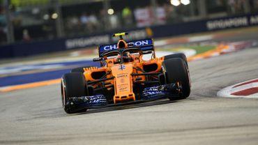 Vandoorne 15e des EL3 à Singapour, Vettel le plus rapide
