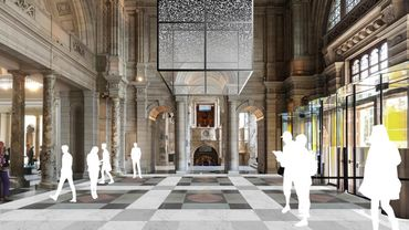 """Maquette de l'installation de Sam Jacob intitulée """"Sea Things"""", à découvrir au Musée V&A lors du London Design Festival."""
