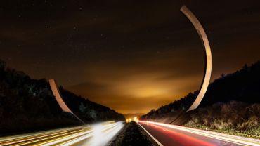 L'Arc majeur à hauteur de Lavaux-Sainte-Anne sur la E411 sera officiellement inauguré ce mercredi 23 octobre