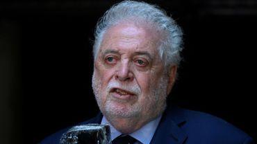 Le ministre de la santé argentin Ginés Gonzàlez Garcia le 10 décembre 2020 lors d'une allocution au Parlement