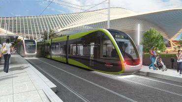 Le projet de tram à Liège