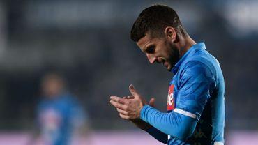 Mertens et Naples stoppés par la Fiorentina, Mirallas sort blessé