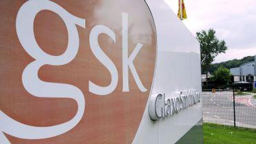 Une action symbolique, à laquelle ont participé une cinquantaine de personnes, a été menée mardi durant le temps de midi sur le site de GSK à Wavre (illustration).
