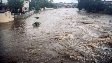Images des inondations à Cuba, le 29 mai.