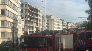 Le bâtiment qui menace de s'effondrer sera démoli