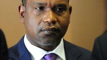 Le ministre des Affaires étrangères du Burkina Faso, Alpha Barry, à Ouagadougou le 17 janvier 2016