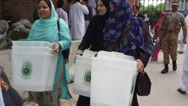Pakistan: ouverture des bureaux de vote pour les élections législatives