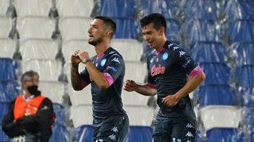 Naples gagne avec Mertens à la Real Sociedad où Januzaj est resté sur le banc, Osimhen exclu