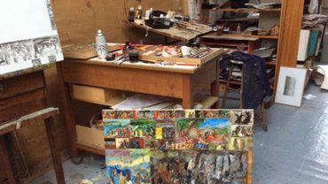 L'atelier de Bern Wery