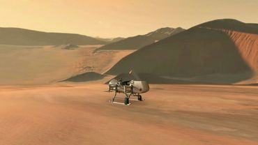 Le futur drone de la Nasa, Dragonfly, destiné à explorer Titan