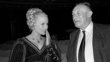 Geneviève Casile et Henry de Montherlant en 1966