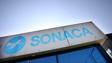 Le siège de la Sonaca, à Gosselies.
